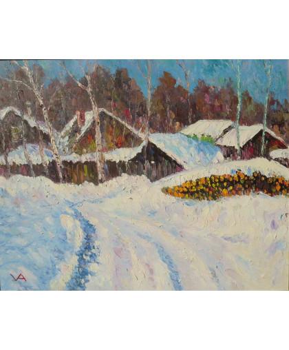 Зима Костерево 2012