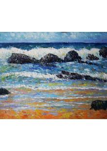 Берег моря. 2013 г.