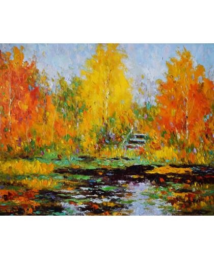 Осенний пруд. 2012 г.