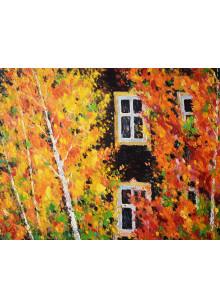 Осень старого дома. 2012 г.